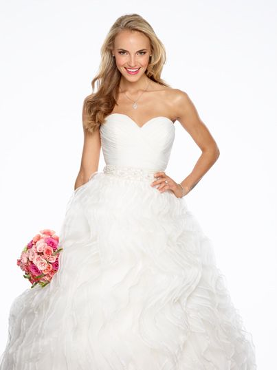 Amy , Wow.  This is the one you tried on ..  Our NEW 2014 Ariel Bridal Gown!!