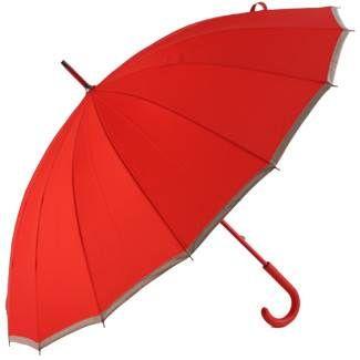 Sedici Red - 16 Panel Umbrella - Brolliesgalore