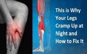 Γιατί παθαίνετε κράμπες στα πόδια την νύχτα: Πως να απαλλαχτείτε