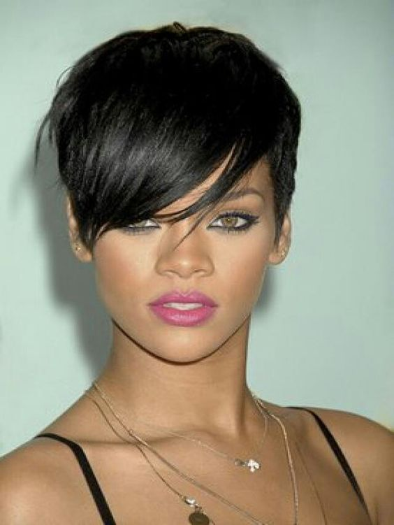 Phenomenal Rihanna On Pinterest Short Hairstyles Gunalazisus