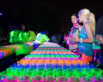 Neon Light Party Ideas   Fun Run: Glow Run!   Women's Health News Blog: Latest Health Headlines ...