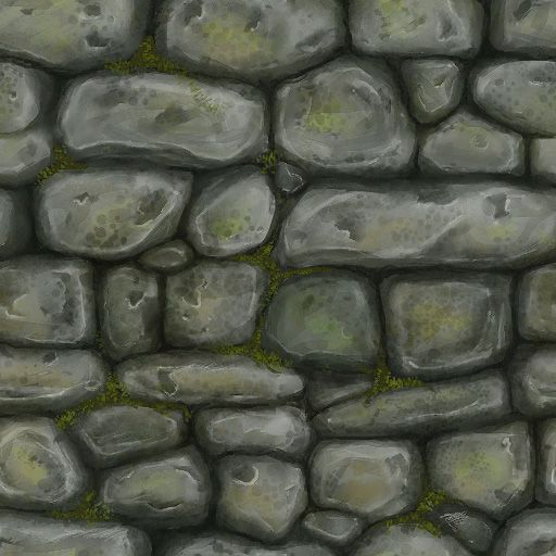 Art by Zwick  painted texture study  Stone Wall 1. stone wall texture   Garden inspirations   Pinterest   Stones