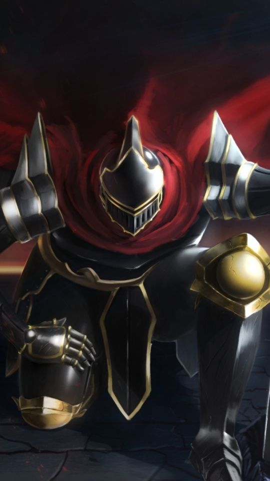 Momon Overlord Anime Armour Suit 540x960 Wallpaper Anime Wallpaper Anime Wallpaper