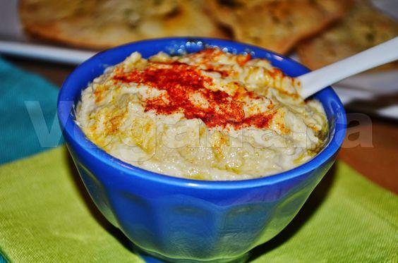 Hummus (Pasta de Grão de Bico) ~ Veganana