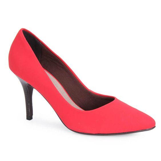 Scarpin Feminino Sensuale 2611617 - Vermelho - Passarela.com