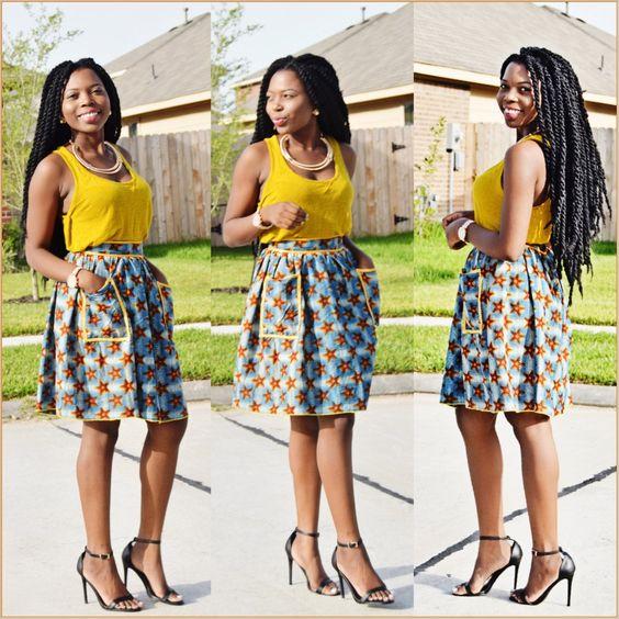 African Print Dresses Etsy