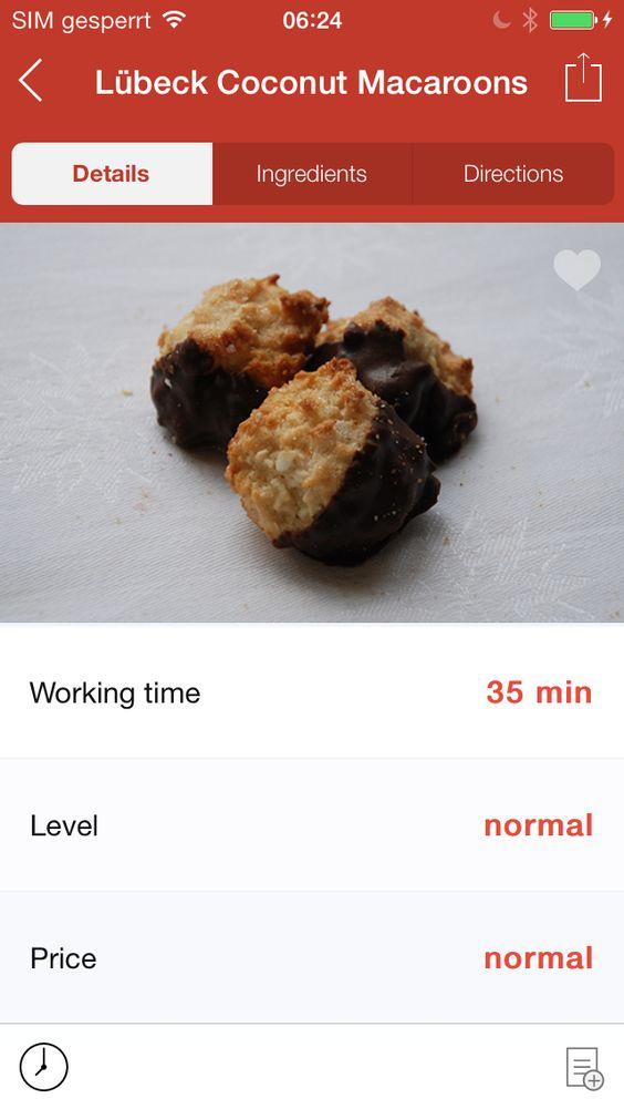 Grandma's German Christmas Cookies App - iOS7