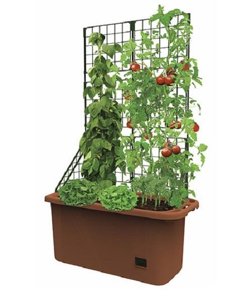 Outdoor Patio Porch Garden Flower Bed Pot Box Vegetable Tower Tomato Planter   #Unbranded