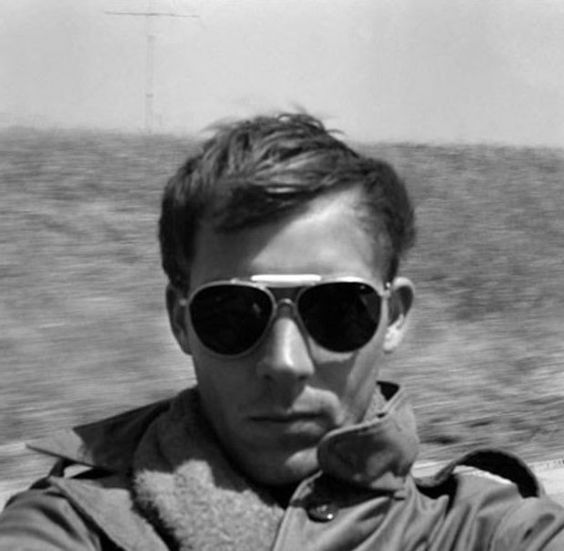 Hunter S. Thompson, self portrait, Tijuana, 1960