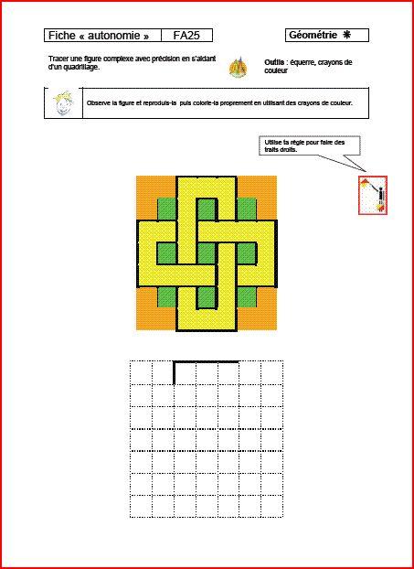 fiches autonomie maths cycle 3 - laclassedelena