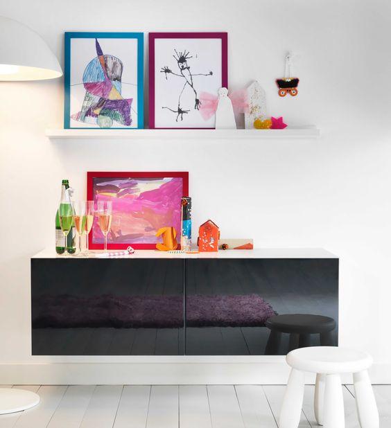 IKEA Österreich, Inspiration, Wohnzimmer, Regal BESTÅ, Rahmen - wohnzimmer ikea inspiration