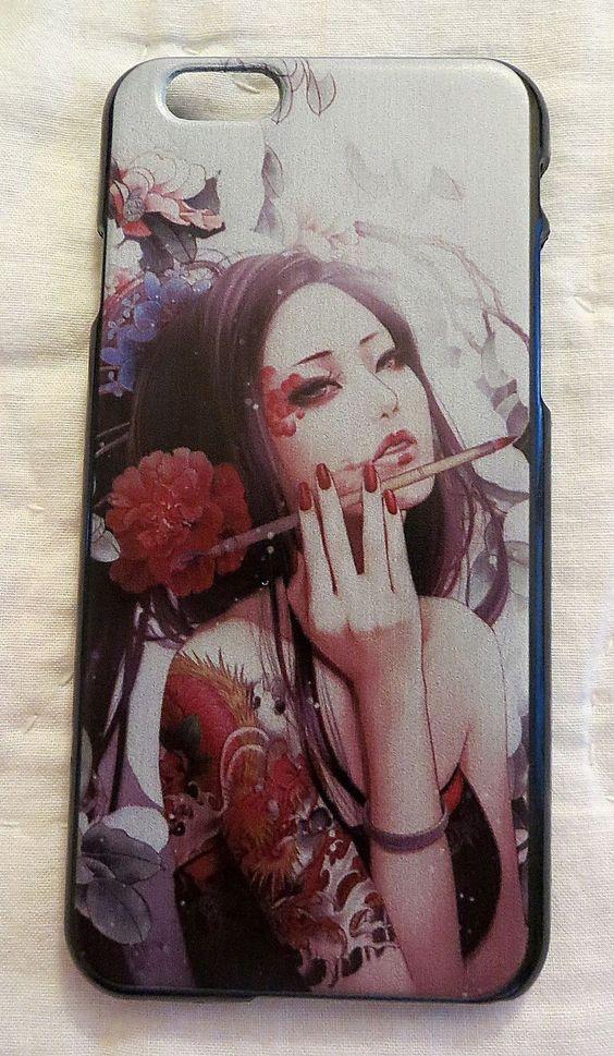 YAKUZA TATTOO GEISHA CASE FOR IPHONE 6 PHONE COVER NEW