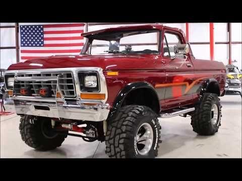 1979 Ford Bronco Burgundy Youtube In 2020 Ford Bronco 1979 Ford Bronco Ford Trucks