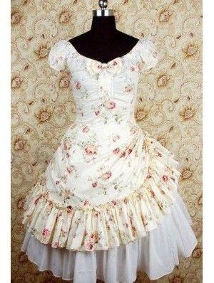 Lolita dress modern victorian summer dress.