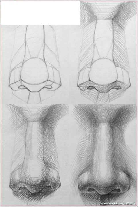 Aprende Como Dibujar Una Nariz Realista Con Estos Consejos Dibujos De Gabriel Como Dibujar Una Nariz Dibujo Humano Dibujos Faciles