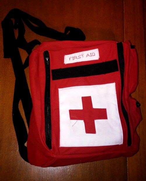 sac left 4 dead 2 medic pack frst aid bag couture sewing