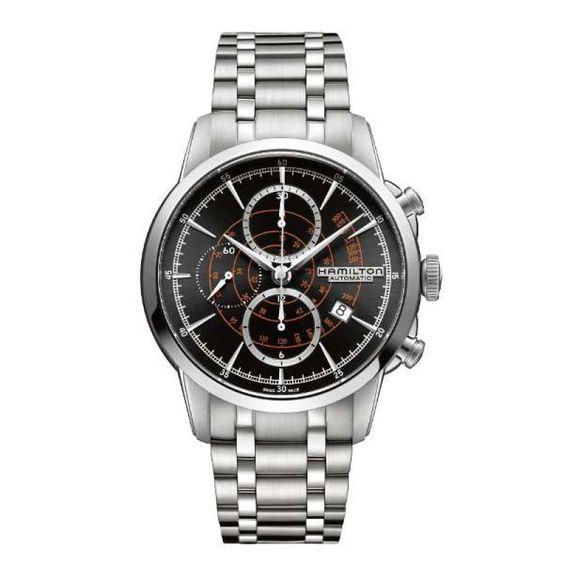 Reloj hamilton railroad auto chrono h40656131