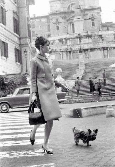 Audrey Hepburn in Rome:
