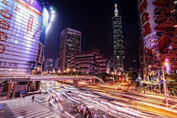 Taipei city & 101