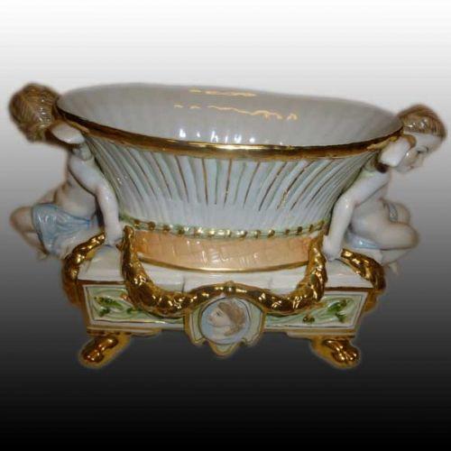 Jardinière en porcelaine Allemande