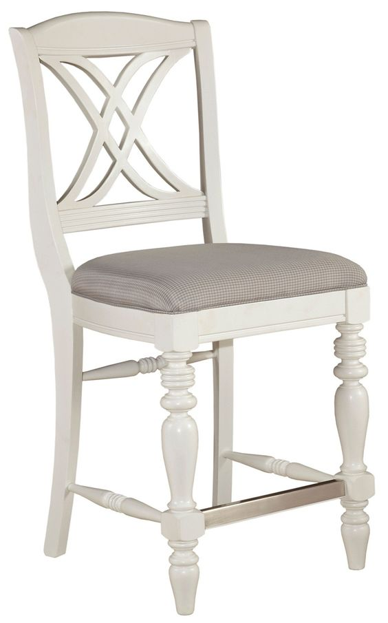 counter stools with backs broyhill | Mirren Harbor X-Back Counter Stool, 4024-592, Broyhill Furniture