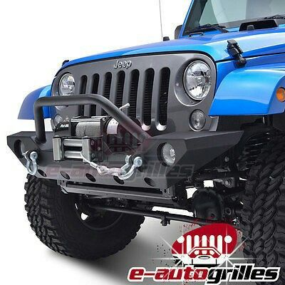 Rock Crawler Front Bumper with OE Fog Light Hole for 07-16 Jeep Wrangler JK  $279.95