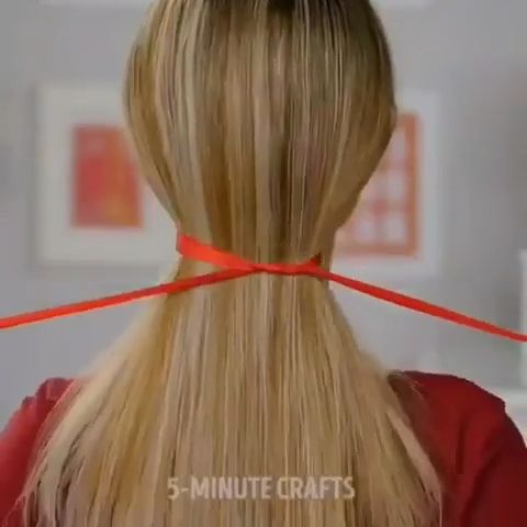 5 Minute Crafts Video Hairstyles Hair Hair Styles