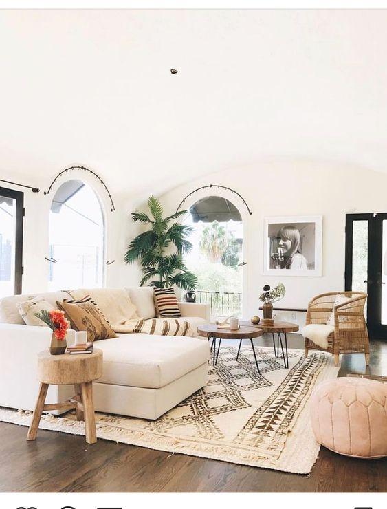 How To Create A Scandinavian Bohemian Living Room The Mood Palette Boho Living Room Decor Interior Design Living Room Rooms Home Decor