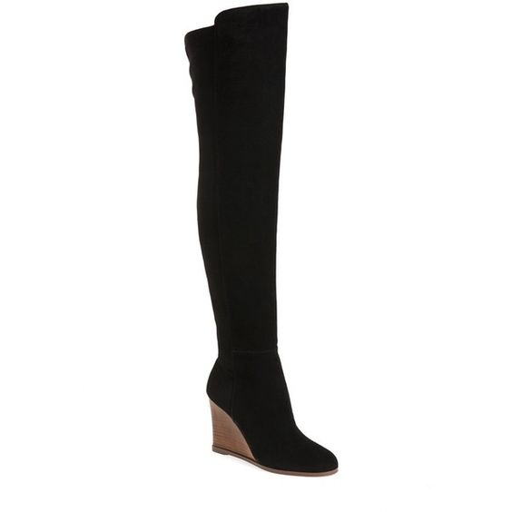 Women's Vince Camuto 'Granta' Over The Knee Wedge Boot ($230 ...