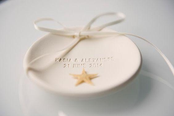 lufcik blog ring plate ceramic travel starfish wedding