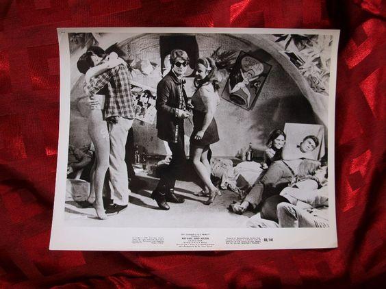 Michael And Helga Movie Still Motion Picture 8x10 Film Shot Beat Hip Dancing Club Cavern 1969 Original R&R Pop