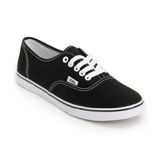 Vans Shoes For Girls Black