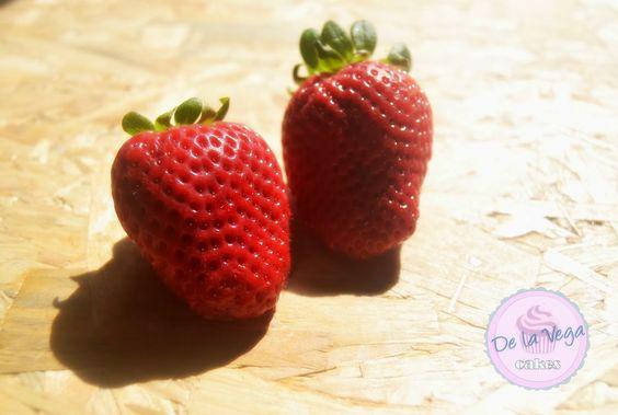 delavega cakes: si no te gustan las fresas, no eres de este planet...