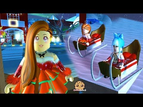Winter Land Royale High Fashion Famous Dress Up Meep City