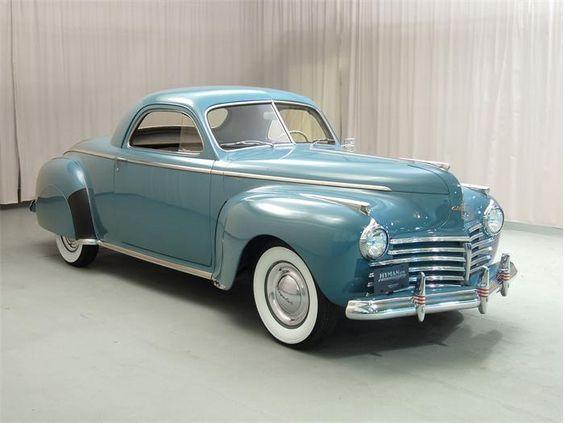 1941 chrysler newport concept antique cars chrysler for 1941 chrysler royal 3 window coupe