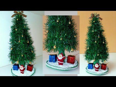 Diy Arbol Navideno Con Material Reciclado Adornos Navidenos 2018 Manualidades Para Navidad Youtube Adornos Navidenos Navideno Arboles Navidenos