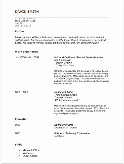 Pin On Example Resume Template