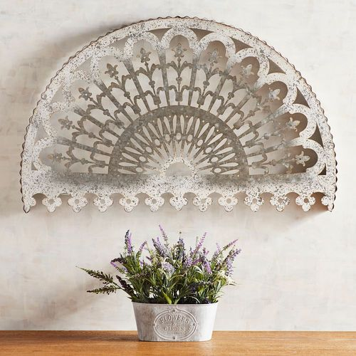 Galvanized Arch Wall Decor Pier 1 Imports Arched Wall Decor