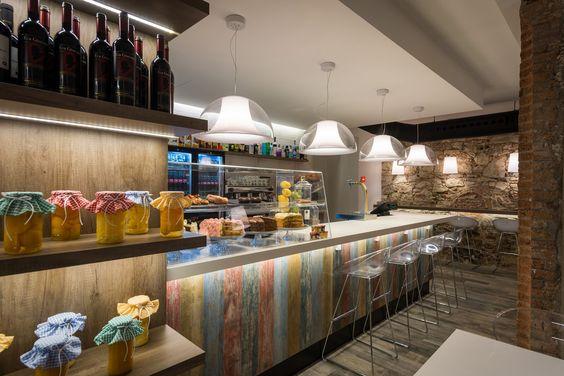 Milky way bar barcelona vives azulejos y gres for Barra bar vintage