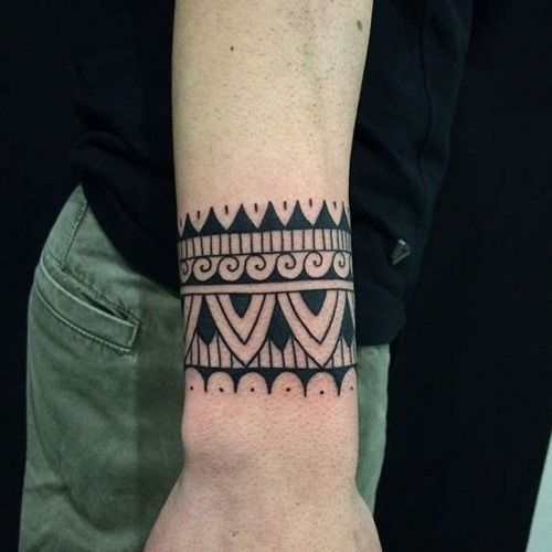 20 Amazing Solid Armband Tattoos (20) | Tattoos for Men ...