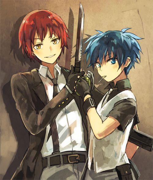 Assassination Classroom   Karma, Nagisa