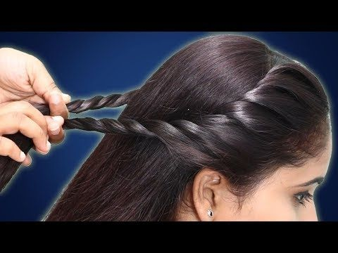 Two Side Juda Braid Hairstyle For Girls Hair Style Girl Simple Hairstyle Hairstyles Front Hair Styles Girls Hairstyles Easy Side Braids For Long Hair