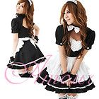 New halloween Japanese Cosplay Lolita French Maid Costume Dress L Size - http://cheapcosplay.com/japanese-cosplay-under-10.html