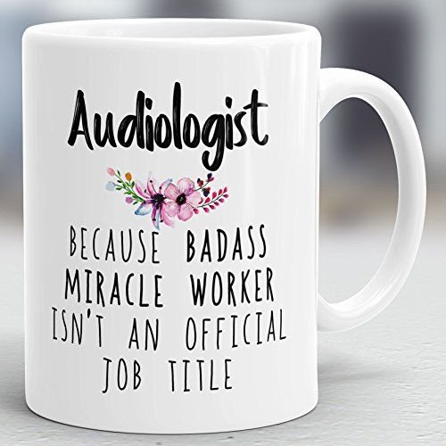 Audiologist Gift Audiology Mug Audiology Present Hearing Therapist Cup M4 Audiologist Present Audiologist Mug Audiology Gift
