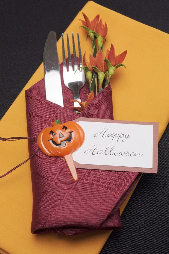 Ideas para decorar nuestra mesa de Halloween - Recetín