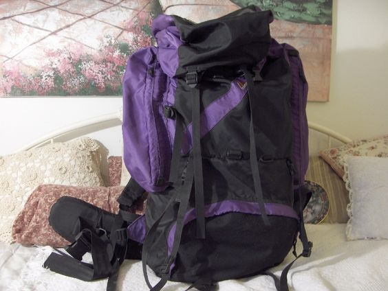 Timbertop Internal Frame Camping And Hiking Backpack http://ajunkeeshoppe.blogspot.com/search/label/Outdoors%20-%20Camping