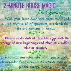 Crone Cronicles: 2 minute house magick