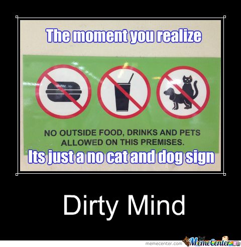 Dirty Minds Example Questions | Dirty Mind Test Meme ...