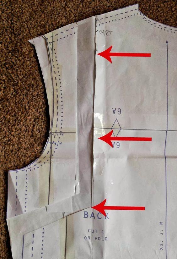 How to Make a Broad Upper Back Adjustment - from Kestrel Makes