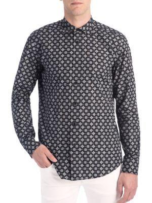 DOLCE & GABBANA Printed Woven Sportshirt. #dolcegabbana #cloth #sportshirt